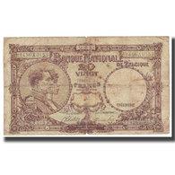 Billet, Belgique, 20 Francs, 1945, 1945-03-14, KM:94, TB - [ 6] Schatzamt
