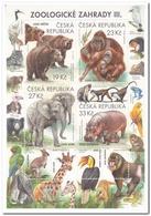 Tsjechië 2018, Postfris MNH, Anymals, Zoo - Tsjechië