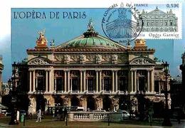 YT 3926 - Opéra De Paris - Carte Maximum 2006 - Maximumkarten