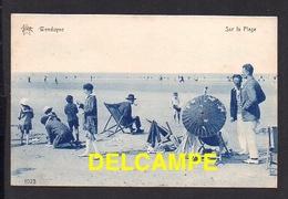 DD / BELGIQUE / DU COQ , DE HANN / WENDUYNE / SUR LA PLAGE / ANIMÉE - De Haan