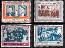 Philippines 1963 Dignitaires Obsèques John Kennedy Charles De Gaulle Et Yvonne Beaudoin Roi Des Belges  MNH - De Gaulle (General)