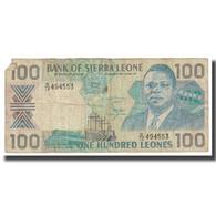 Billet, Sierra Leone, 100 Leones, 1989, 1989-04-27, KM:18b, TB - Sierra Leone