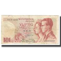 Billet, Belgique, 50 Francs, 1966, 1966-05-16, KM:139, TB - Otros