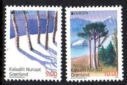 Danmark Gronland 0558/59 Europa, Arbres Forêt - 2011