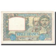France, 20 Francs, Science Et Travail, 1940, 1940-12-05, SUP, Fayette:26.32 - 1871-1952 Antichi Franchi Circolanti Nel XX Secolo