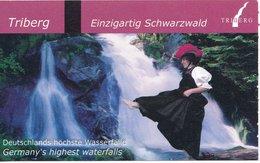 BRD Triberg Eintrittskarte 2019 Wasserfälle Deutschlands Höchste Wasserfälle - Eintrittskarten