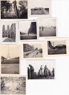 LOT PHOTO ORIGINALE 39 / 45 WW2 WEHRMACHT / LA GUERRE EN EUROPE / DIVERS FORMATS / N°16 - Guerra, Militari