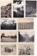 LOT PHOTO ORIGINALE 39 / 45 WW2 WEHRMACHT / LA GUERRE EN EUROPE / DIVERS FORMATS / N° 19 - Guerra, Militari