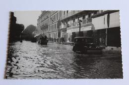 Avignon Inondation 1935 Monoprix Vieille Voiture Camions  Roulant Dans L Eau Nb Glacee - Avignon