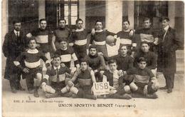 L' ISLE SUR SORGUE - Union Sportive Benoit (1910-1911) (1345 ASO) - L'Isle Sur Sorgue