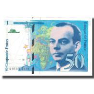 France, 50 Francs, St Exupéry, 1993, NEUF, Fayette:72.2, KM:157b - 1992-2000 Ultima Gama