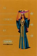 Étiquettes à Bagages - Sabena - To Israel - Baggage Etiketten