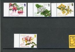 Falkland Inseln MiNr. 1130-33 Postfrisch MNH Blumen (Blu330 - Falklandeilanden