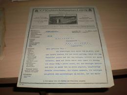 K F Koehlers Antiquarium Leipzig 1925 - Allemagne
