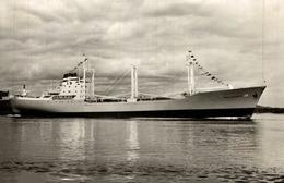 RPPC HOEGH BANNIERE CARGO SHIP NORGE NORWAY - Commercio