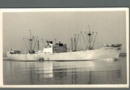 RPPC BLACK TERN CARGO SHIP NORGE NORWAY - Commercio