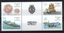 Serie  Nº 1727/30   Argentina - Argentina