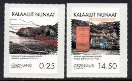 Danmark Gronland 0590/91 Mines De Graphite - Minerali