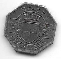 *notgeld  Hechingen 5 Pfennig 1918 Fe 1 6091.1 / F202.1 - Altri