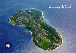 1 AK Taiwan * Blick Auf Lamay Island - Heutiger Name Der Insel Ist Xiaoliuqiu - Luftbildaufnahme * - Taiwan