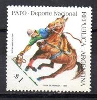 Sello  Nº 1820  Argentina - Argentina