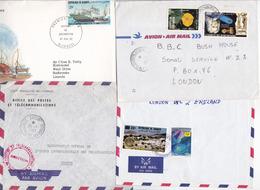 DJIBOUTI - Lot De 4 Enveloppes - Dschibuti (1977-...)