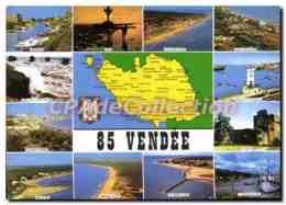 CPSM VENDEE Jard Sur Mer Saint Jean De Monts Longeville Sur Mer Notre Dame De Monts - Autres Communes
