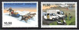 Danmark Gronland 0609/10 Europa , Chien , Moto, Voiture, Camion - 2013