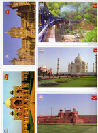 INDIA Picture Postcards: UNESCO World Heritage Sites (India), Set Of 32 Cards - India
