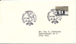 Denmark Cover Scout Scouting Ringsted 13-7-1982 KFUK Spejdernes Landslejr - Scouting