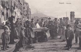 NAPOLI-MARINA-STREPITOSA ANIMAZIONE-BELLISSIMA CARTOLINA VIAGGIATA IL 31-10-1915 - Napoli