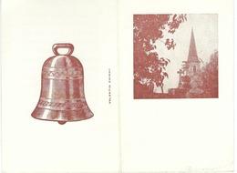 SALLES LEZ CHIMAY - Souvenir De La Bénédiction Des Nouvelles Cloches De L'Eglise En 1968 - Images Religieuses