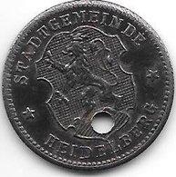*notgeld  Heidelberg 10 Pfenng ND/o.j. Fe 1 6154.2/ F203.1b - [ 2] 1871-1918 : Impero Tedesco