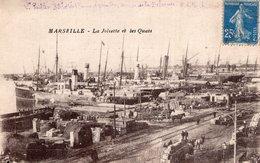 B57413 Cpa Marseille - La Joliette Et Les Quais - Marseille