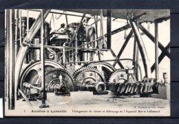 54 - Aviation à Lunéville - Changement De Vitesse Et Debrayage De L'appareil Bot Et Lallemand - Luneville
