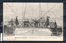 54 - Aviation à Lunéville - Vue Générale De La Nascelle De L'appareil Bot Et Lallemand - Luneville