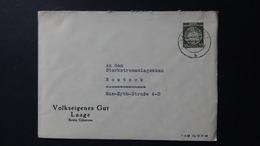 Germany - 1954 - Mi:DD DA8xXI, Sn:DD O8, Yt:DD S8 On Envelope - Look Scan - Service