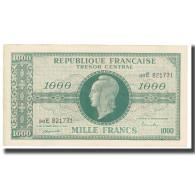 France, 1000 Francs, 1947 French Treasury, SUP, Fayette:12.02, KM:107 - Tesoro
