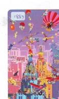 Telecarte JAPON * (1883) BALLON * MONTGOLFIERE - Hot Air Balloon * Aerostato * Heißluft PHONECARD JAPAN - - Sport