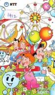 Telecarte JAPON * (1912) BALLON * MONTGOLFIERE - Hot Air Balloon * Aerostato * Heißluft PHONECARD JAPAN - - Sport