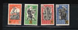 Belgique - Erinnophilie - La Légion Flamande E22 à E25  NSCH - Erinnophilie