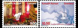 Danmark Gronland 0630/31 Ours Polaire Peluche, Noël - Kerstmis