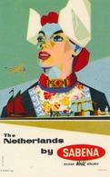 Étiquettes à Bagages - Sabena - The Netherlands By Sabena - Baggage Labels & Tags