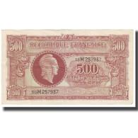 France, 500 Francs, Marianne, SPL, Fayette:11.3, KM:106 - Tesoro