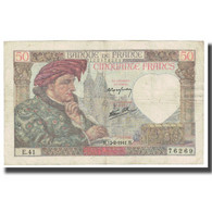 France, 50 Francs, Jacques Coeur, 1941, 1941-02-13, TTB, Fayette:19.16, KM:93 - 1871-1952 Antichi Franchi Circolanti Nel XX Secolo