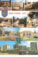 LOT DE 2 CPSM DE SAINT ETIENNE - - Saint Etienne