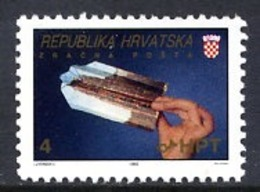 CROATIA 1992 Airmail Zagreb-Osijek MNH / **.  Michel 189 - Croazia