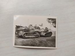 2WK Foto  Panzer Wehrmacht Kampfwagen Tank Frankreich Renault - 1939-45