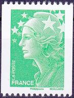 France Marianne De Beaujard Roulette N° Noire Au Verso N° 4239 Année 2008 Neuf** - Neufs