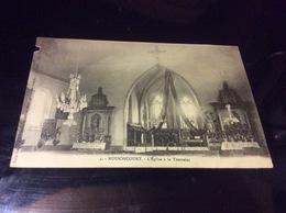 NOSSONCOURT.  Interieur De L'église  8/19 - Autres Communes
